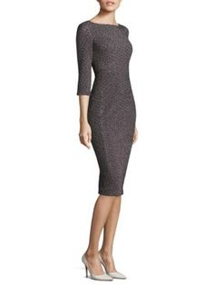 Michael Kors Collection - Jacquard Sheath Dress