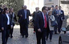 Bernie Sanders goes to the Vatican meets Pope Francis http://www.examiner.com/article/bernie-sanders-goes-to-the-vatican-meets-pope-francis