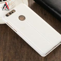 Classic Design 100% Leather Flipcase For Huawei Mate 9 Mate 9 Pro Honor 8 Honor 7 P9 P8 P8 Lite Embossed Pattern Accurate Holes