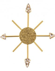 Pin Rose of the Winds