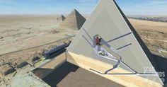 Μυστηριώδεις «κρυμμένες κοιλότητες» βρέθηκαν μέσα στη Μεγάλη Πυραμίδα της Γκίζας [Βίντεο]