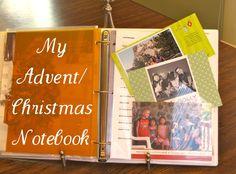 Advent/Christmas Notebook