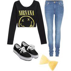 Nirvana Outfit by vannixxpandas