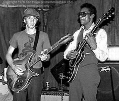 Stevie playing for the first time with Albert King, Albert Collins or maybe Otis Rush?