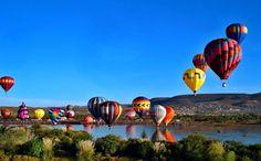 A mitad del mes de noviembre llega un festival de globos aerostáticos 2016 al…