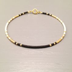 Thin Bead Dainty Bracelet ,Simple Layaring Bracelet ,Dainty gold Bracelet This listing is for one beaded gold fill Bracelet. Bracelet is made of a