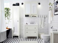 Fresh and inviting bathroom