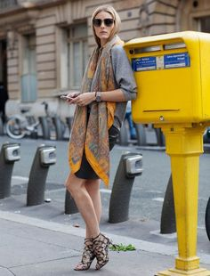 Fashion Week Diary | Day 18: Sweater and scarf by CH Carolina Herrera, a Sass