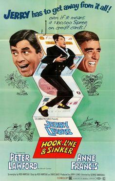 Hook, Line, and Sinker (1969) Original One-Sheet Movie Poster