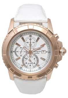 Price:$174.50 #watches Seiko SNAE12P1, This Seiko Chronograph timepiece combines both the Sporty and sophisticated looks.
