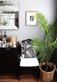 Black Bamboo Chair.