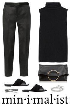 """""""Victoria Beckham Spiral leather clutch"""" by mrs-box ❤ liked on Polyvore featuring The Row, NewbarK, Victoria Beckham and Inez & Vinoodh"""