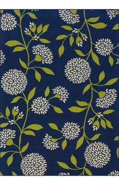 Oriental Weavers Sphinx Caspian Outdoor 8327 Blue Rug | Contemporary Rugs