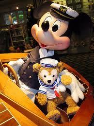 Mickey Mouse and Duffy the Disney Bear #Duffy #DuffyTheDisneyBear #DisneyBearCousins