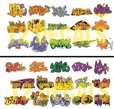 HO Scale Graffiti 2-Pack #2 - Weather Your Box Cars, Hoppers, & Gondolas! #T2Decals