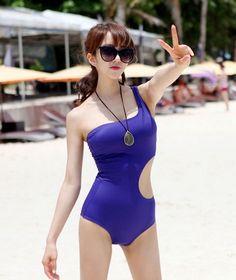 [Secret2Girls] One Shoulder Monokini