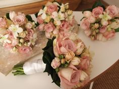 Wedding bouquets...