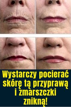 Maska odmładzająca na zmarszczki i wiotczejącą skórę – DIY. Face Massage, Health And Beauty, Healthy Life, Life Is Good, Health Tips, Detox, Beauty Hacks, Remedies, Health Fitness
