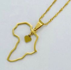 Ankh necklace and africa map necklace gold plated ankh pendant africa map charm pendant,africa necklace ,egypt Real Gold Jewelry, Gold Wedding Jewelry, Gold Jewelry Simple, Brass Jewelry, Africa Necklace, Ankh Necklace, Gold Necklace, Long Pearl Necklaces, Heart Shaped Necklace