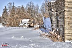 Snowed In - Carrot River, Saskatchewan
