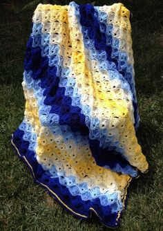 Twilight Shells Throw - Free Pattern