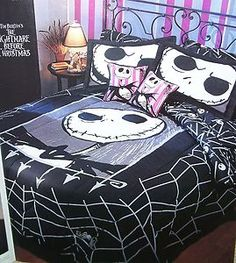 nightmare+before+christmas+bedding | Nightmare Before Christmas Bedding Full Queen Comforter Cover  Sheet ...