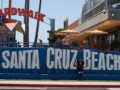 Santa Cruz Beach Boardwalk... of course.