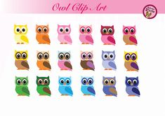 Cute Owl ClipArt Owl PNG Cute owl clipart Owls picture for kids Owl Png, Owl Clip Art, Owl Pictures, Cute Owl, Cute Illustration, Owls, Digital Prints, Printables, Illustrations