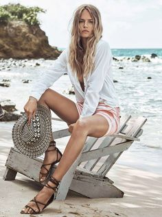 Great summer look (Natasha Poly for H&M Summer 2015)