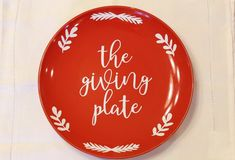 The Giving Plate Giving Plate, Always Harry Potter, Gifts Under 10, Happy Birthday Banners, Fundraising, Decorative Plates, Handmade Items, Treats, Etsy