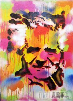 David Ben Gurion Pop Artified by Dan Groover