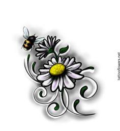 Daisy Tattoo Design...