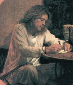 Robert Plant -- lyric-writing genius <3  Led Zeppelin