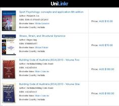 Unilinkr is the best social networking site for University students and University staff and alumni to buy used university text books.