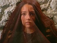 "Olivia Hussey in ""Romeo and Juliet"""