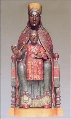 """Madonna di Tindari, Santuario, Patti, Messina. """"Nigra sum sed Formosa"""" """"Sono nera eppure sono Bella"""" - Regina di Saba."""