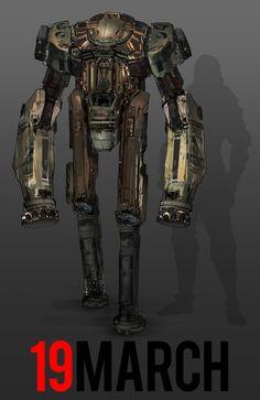 March of Robots 19 by yongs.deviantart.com on @DeviantArt