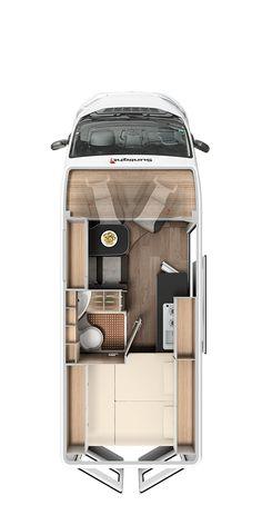 Bus Camper, Kombi Motorhome, Build A Camper Van, Camper Life, Van Conversion Interior, Camper Van Conversion Diy, Vw Camper Conversions, Camping Glamour, Casas Trailer