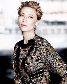 Cate Blanchett 18.12.15 . Cate for vogue - #cateblanchett