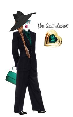 """Invisible Doll - Yves Saint Laurent"" by shistyle ❤ liked on Polyvore featuring art"