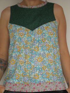 Blusa Aline - patchwork