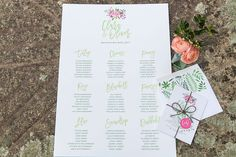 Table Plan by Knots & Kisses. Champagne Saucers, Vintage Crockery, Floating Flowers, Peony Rose, Table Plans, Pansies, Spring Wedding, Amazing Cakes, Kisses