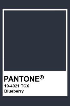 Pantone Blueberry