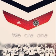 Die Mannschaft. Now and forever!             One country. One team, One dream ❤️