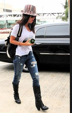 Megan fox airport