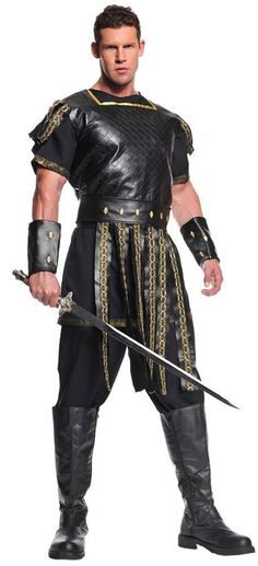 Costumes! Roman or Spartan Warrior Costume Set Standard #UR #Costume