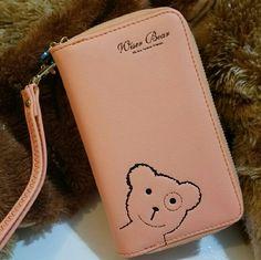 Shop Women's Wiser Bear Orange size 15cm X 9.6cm X 4.5cm Clutches & Wristlets at a discounted price at Poshmark. Description: 2017 Fashion Women Wrist Wallet ??Cute Bear Lady Handbag Clutch Zipper ??Multifunction Coin Purse ??Universal Phone Case Cover For iPhone 7 6S Samsung Galaxy S7 S6 Edge ??Description Ingredient: High Quality PU Leather Size: 15 cm x 9.6 cm x 4.5 cm (L x W x H) Note: Cellphones below 5.5 Inch Structure: 3 Zipper Pockets 9 Credit Card Slots 1 Photo Frame Packa...