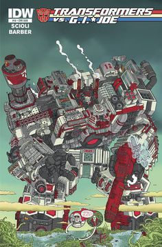 Transformers Vs. GI Joe #10 - Ulises Fariñas