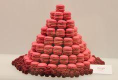 Raspberry Macaron Tree