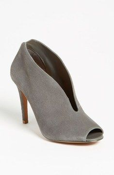 Gray booties go with everything!